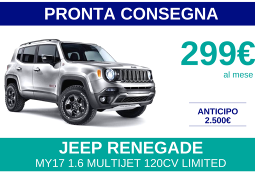 JEEP RENEGADE PRONTA CONSEGNA