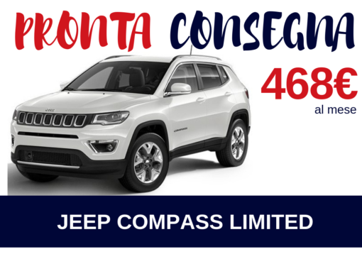 PRONTA CONSEGNA – JEEP COMPASS LIMITED